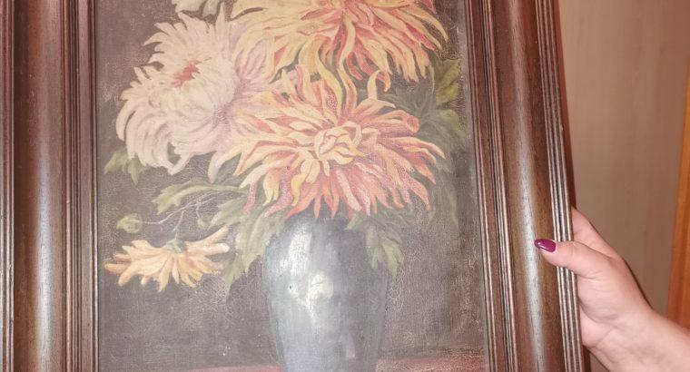 Picture bouquet in vase – Bild Blumenstrauß in Vase