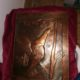 2 copper pictures, one with a sailing ship and one with a duck -2 Kupferbilder eins mit Segelschiff und eins mit Ente