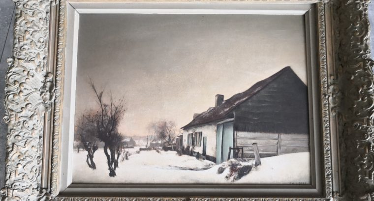 Oil Painting Georg Emil Libert Ölgemälde
