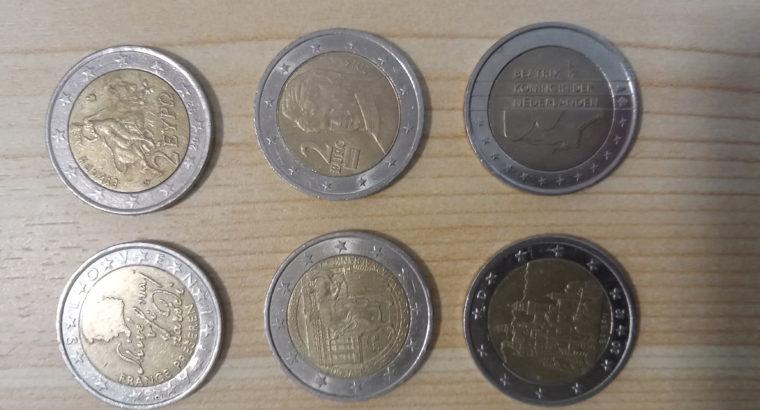 Coins: 2 Euro Münzen