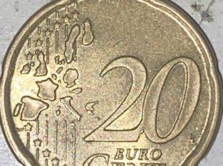 Error Coin: 20 Euro Cent, ich taufte ihn McMünze
