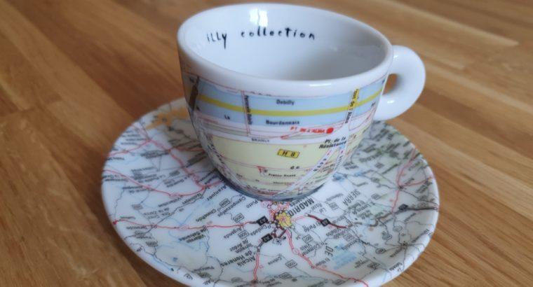 Illy Collection 1998 paris Madrid RAUSCHENBERG