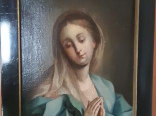 painting madonna