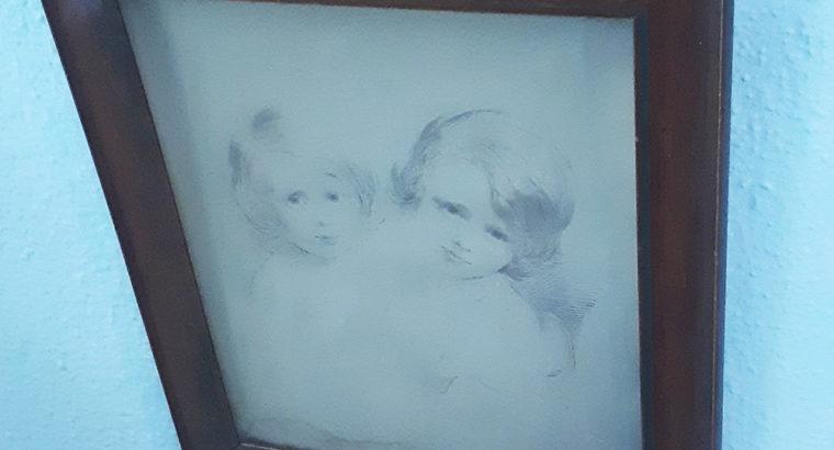 Drawing angels