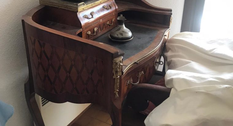 French wooden secretary